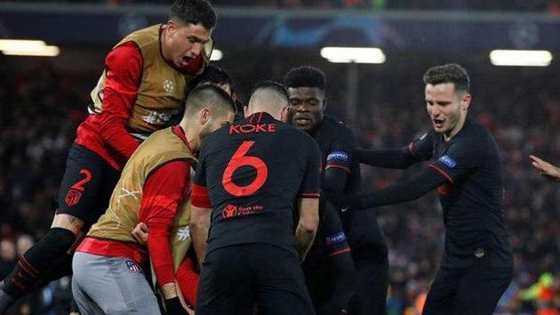 Oblak je pre nás to isté, čo Messi pre Barcelonu, chválil Simeone po postupe cez Liverpool
